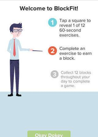 Quick Home & Office Workout with BlockFit App