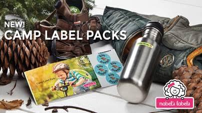 Mabels labels summer camp labels