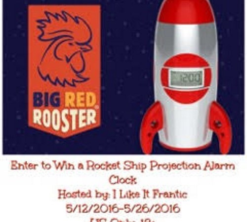 How an Alarm Clock Saved Sleep and Rocket Ship Projection Alarm Clock Giveaway