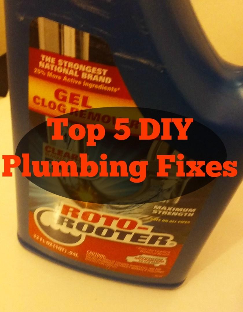 Top 5 DIY Plumbing Fixes