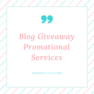 Hire Brandy Ellen to List your Giveaways