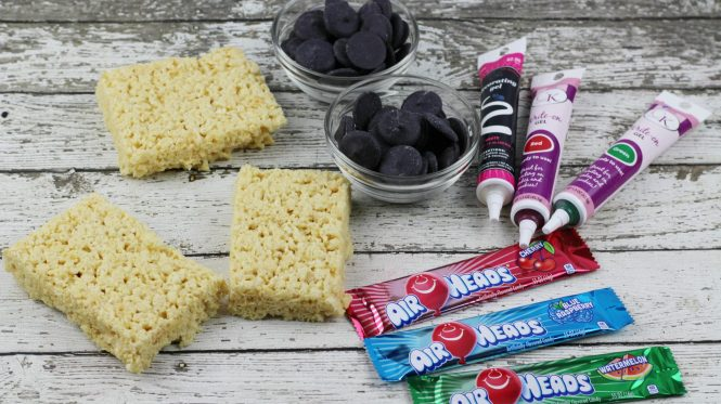 Back to school Snack Chalkboard Krispies
