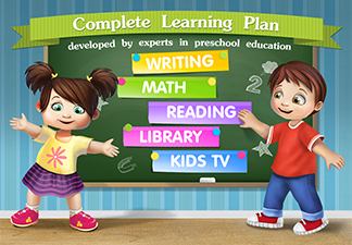 Kids Academy on Google Play and iTunes For Learning