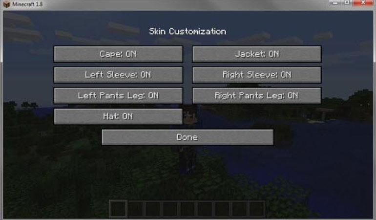 Customizing Skins in Minecraft