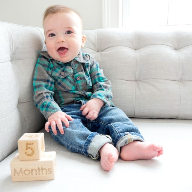 Major Boy is FiveMonthsOld! Well He actually turned five monthshellip