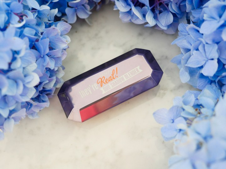 Eva Amurri Martino includes Benefit's They're Real Duo Eyeshadow Blender as part of her monthly obsessions roundup
