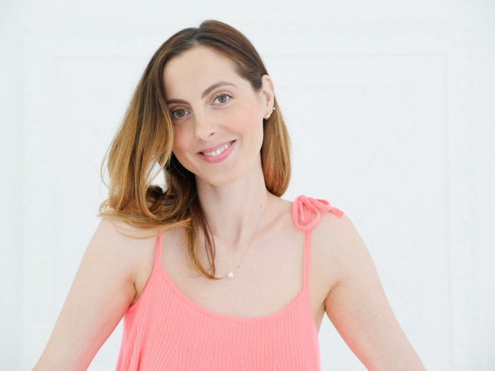 Eva Amurri Martino shows off a subtly smokey eye