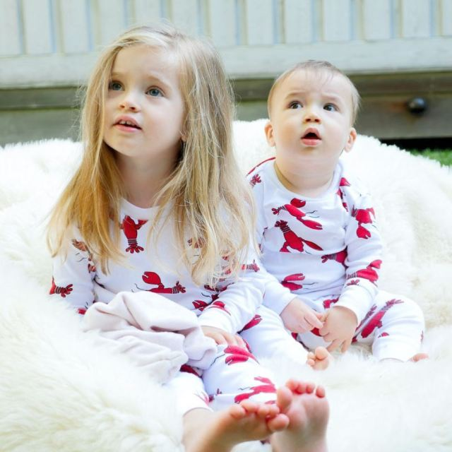 Summer Sundays are for matching lobster Jammies no lobster emoji?!hellip