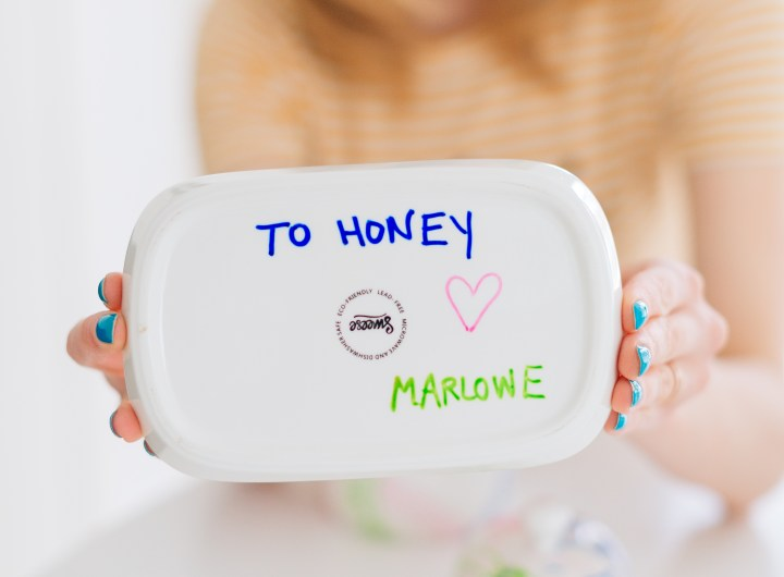 Eva Amurri Martino's daughter Marlowe's Mother's Day Gift for her grandmother.