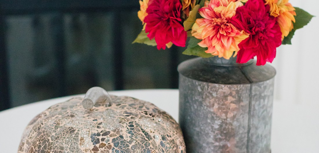 Eva Amurri Martino displays her favorite chic fall decor pieces
