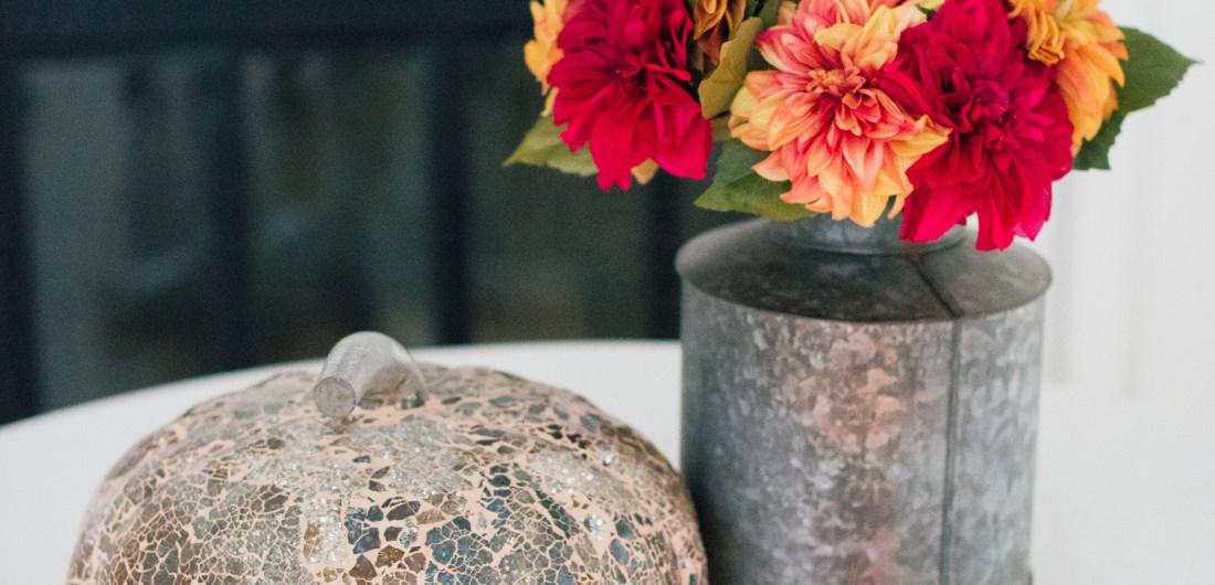 Eva Amurri Martino displays her favorite chic fall decor pieces
