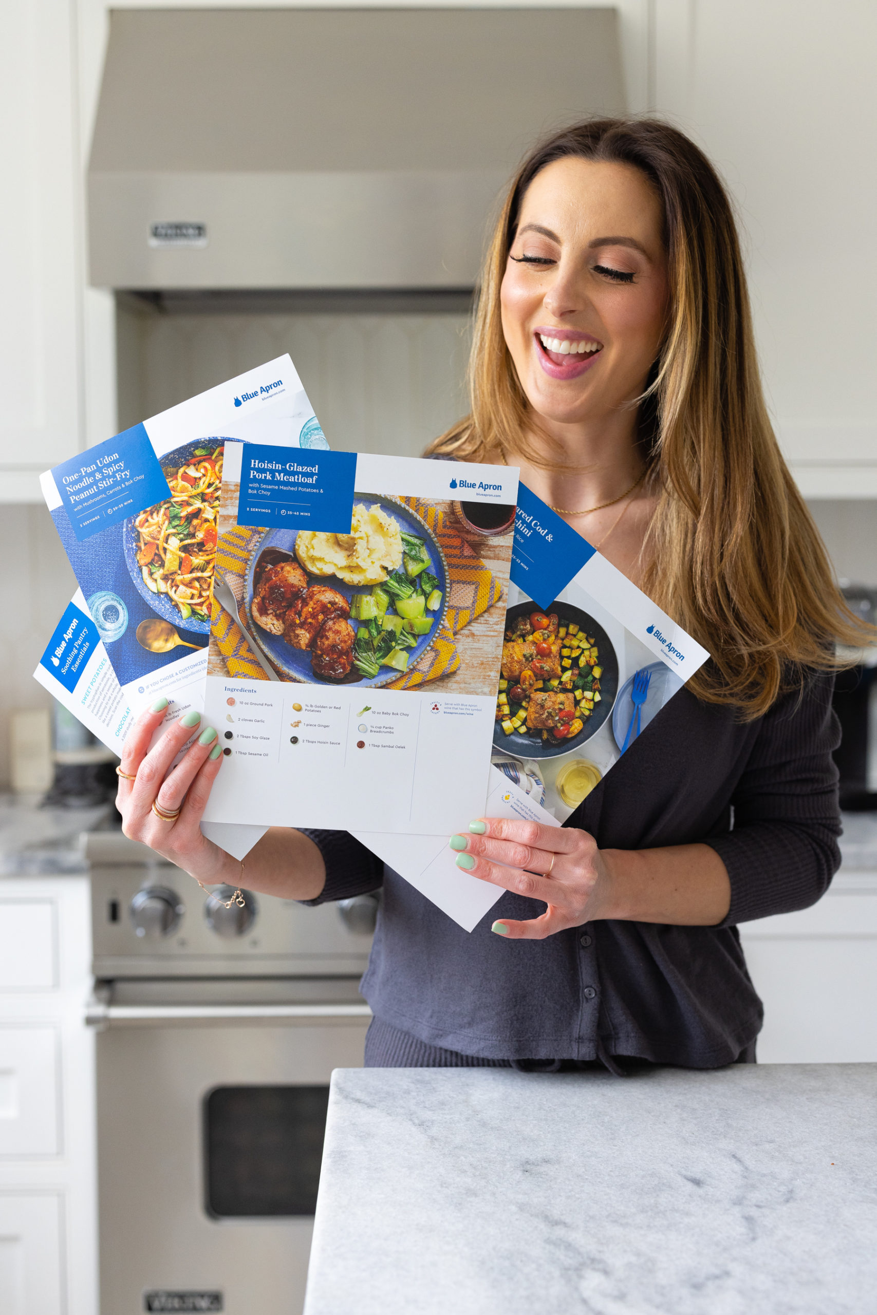 Eva Amurri shares how Blue Apron is helping her get out of her cooking rut