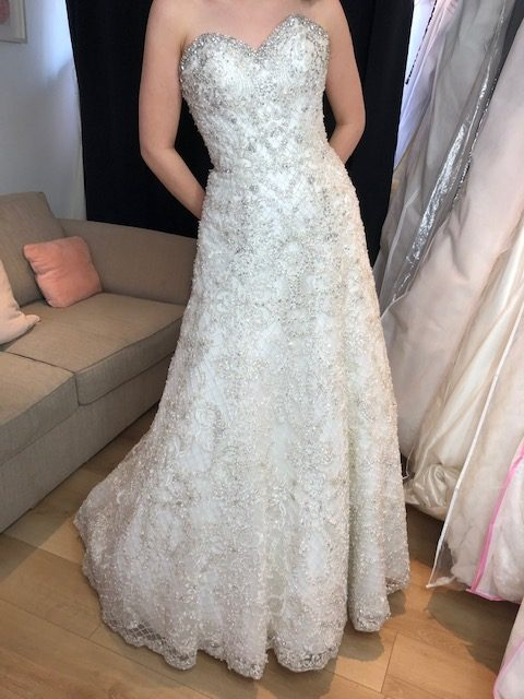 Sparkly wedding dress, Happily Ever After