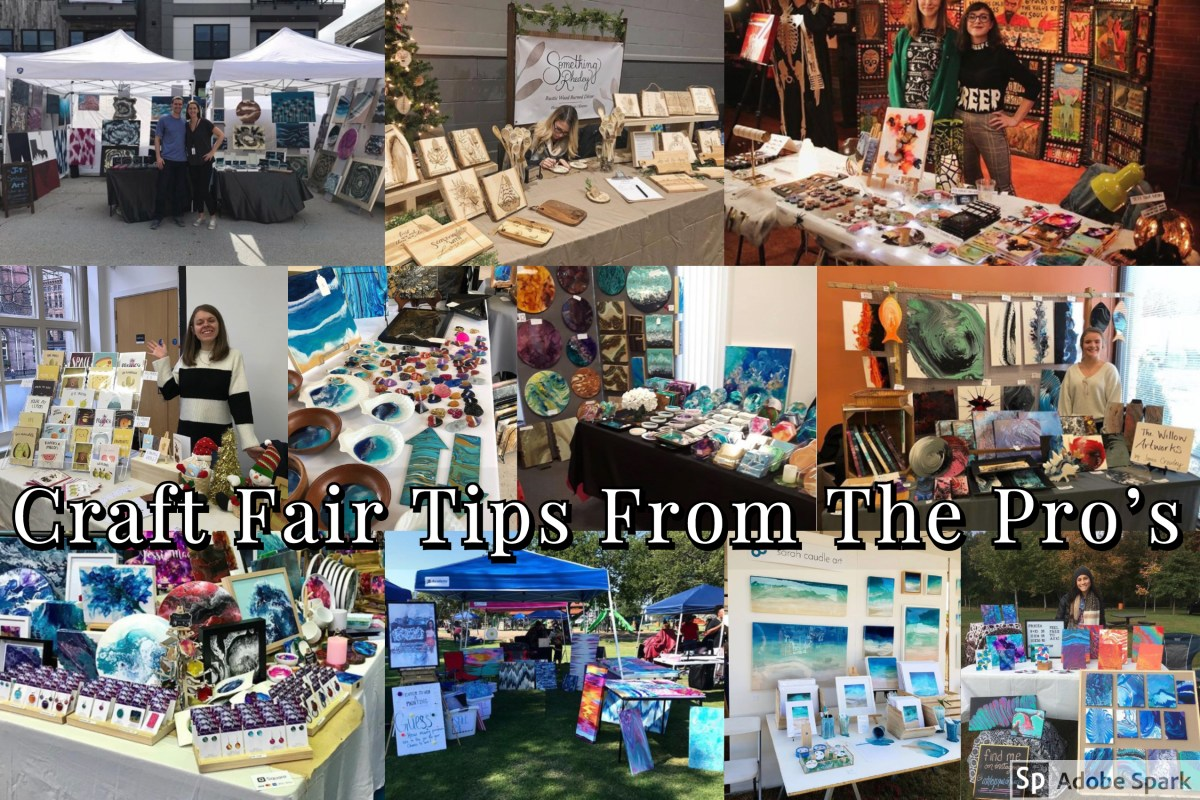 Artists Share Their Craft Fair Tips! – Happily Ever Crafty