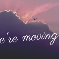 We are moving to...