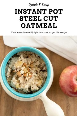 Instant pot oatmeal pinterest