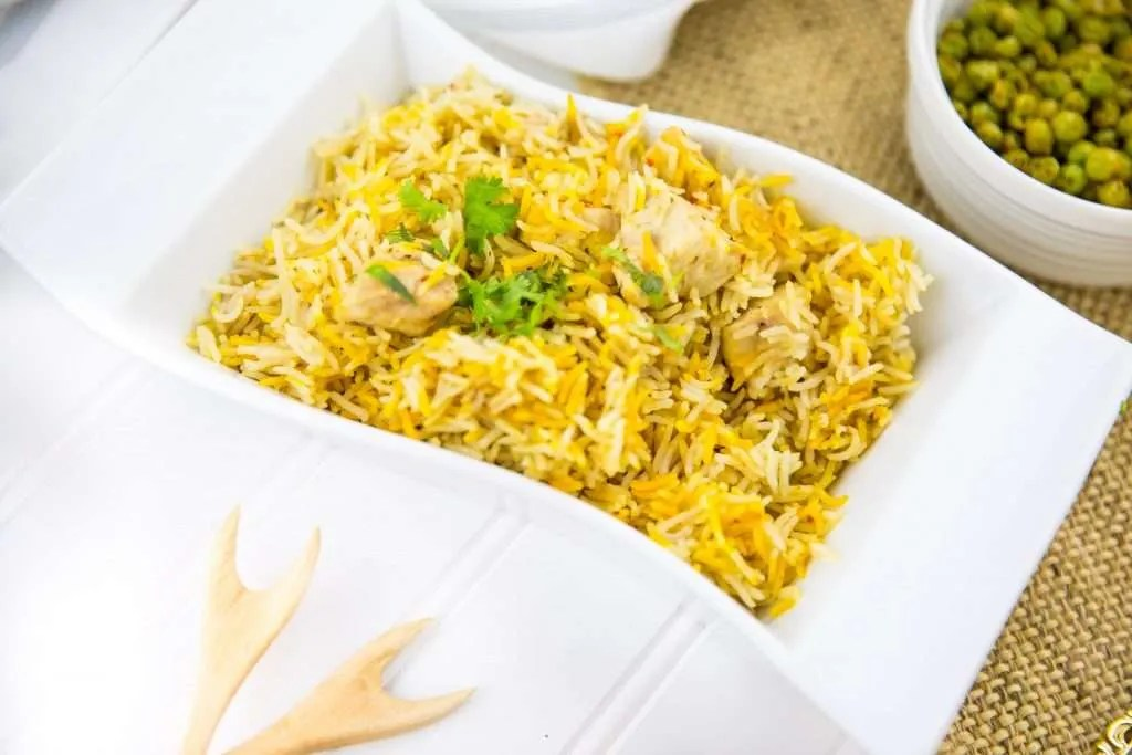 Instant Pot Chicken Pilau Rice