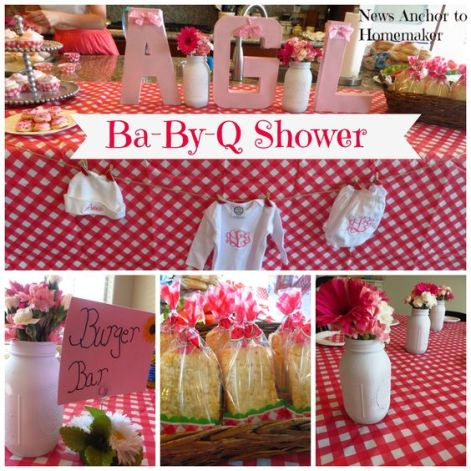 Ba By Q Baby Shower theme