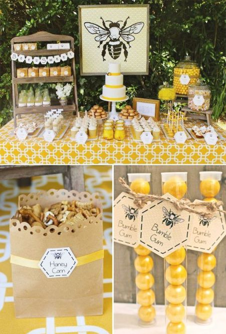 Bumble Bee Baby shower theme