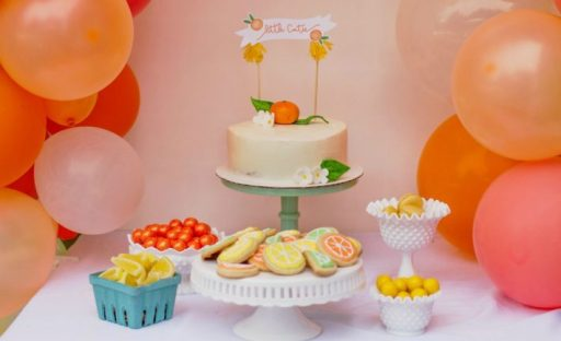 Little Cutie Baby shower theme