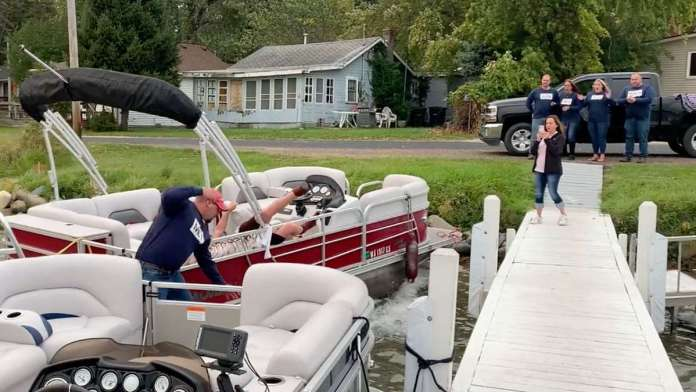 boat crash proposal