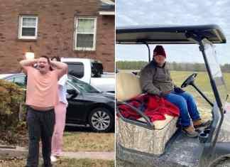 golf cart surprise