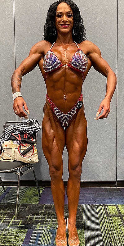 Champion bodybuilder