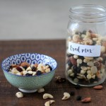 Blueberries & Cream Trail Mix | read more at happilythehicks.com