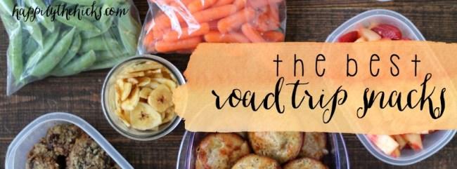 The Best Road Trip Snacks