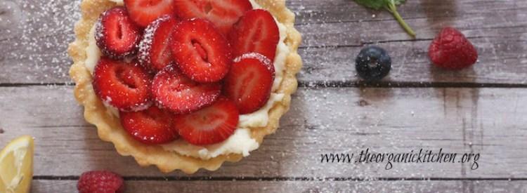 Lemon Berry Mascarpone Tarts | recipe from theorganickitchen.org