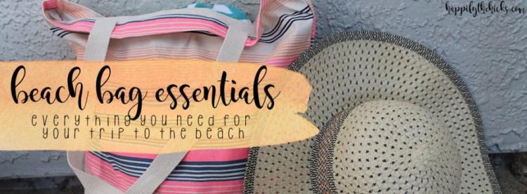 Beach Bag Essentials   read more at happilythehicks.com