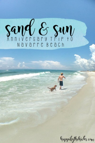 Navarre Beach Trip | read more at happilythehicks.com