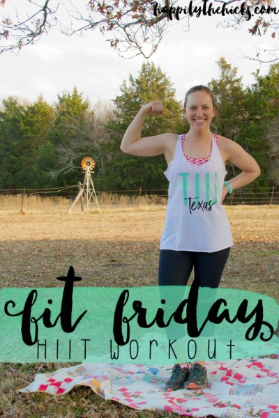 Fit Friday HIIT Workout | read more at happilythehicks.com