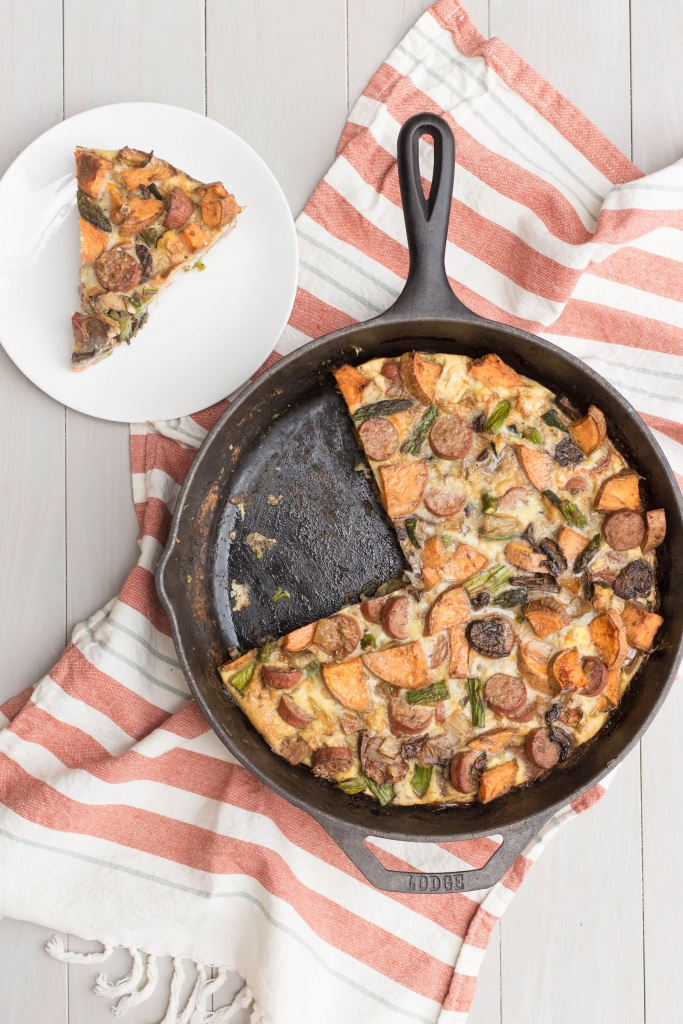 The Perfect Breakfast Frittata (Whole30 approved!) | read more at happilythehicks.com