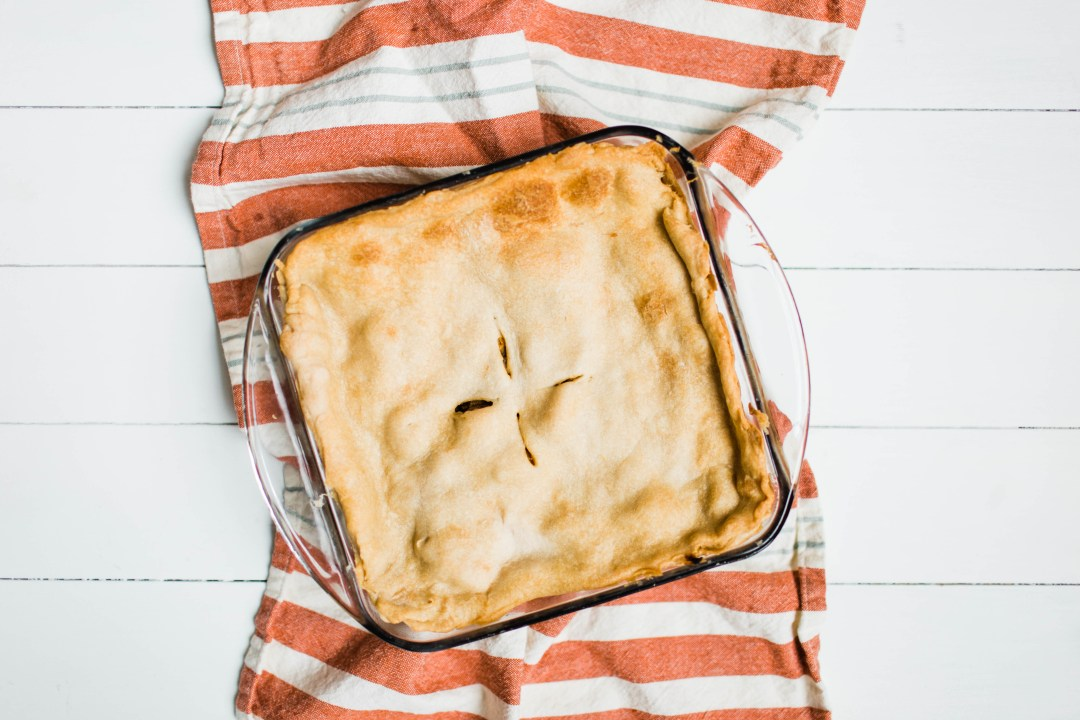 Not Your Momma's Chicken Pot Pie