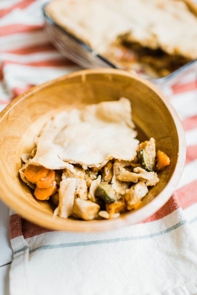 This is not your momma's chicken pot pie. Get ready for a recipe that will blow your socks off!   read more at happilythehicks.com