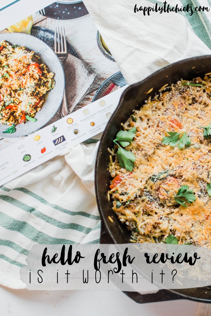 Hello Fresh Review - Is it worth it? | read more at happilythehicks.com