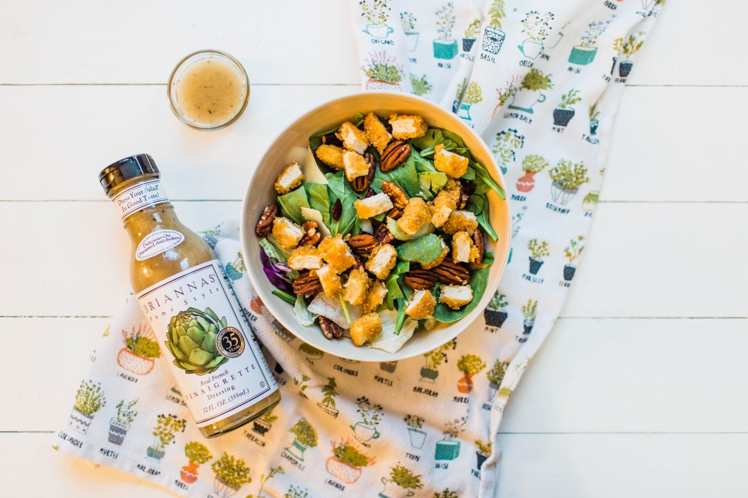 Easy Chicken & Greens Salad