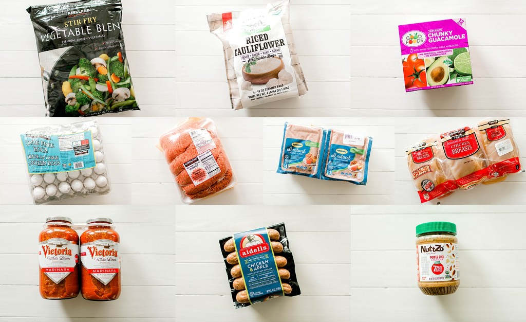 Whole30 Costco Grocery Haul | read more at happilythehicks.com