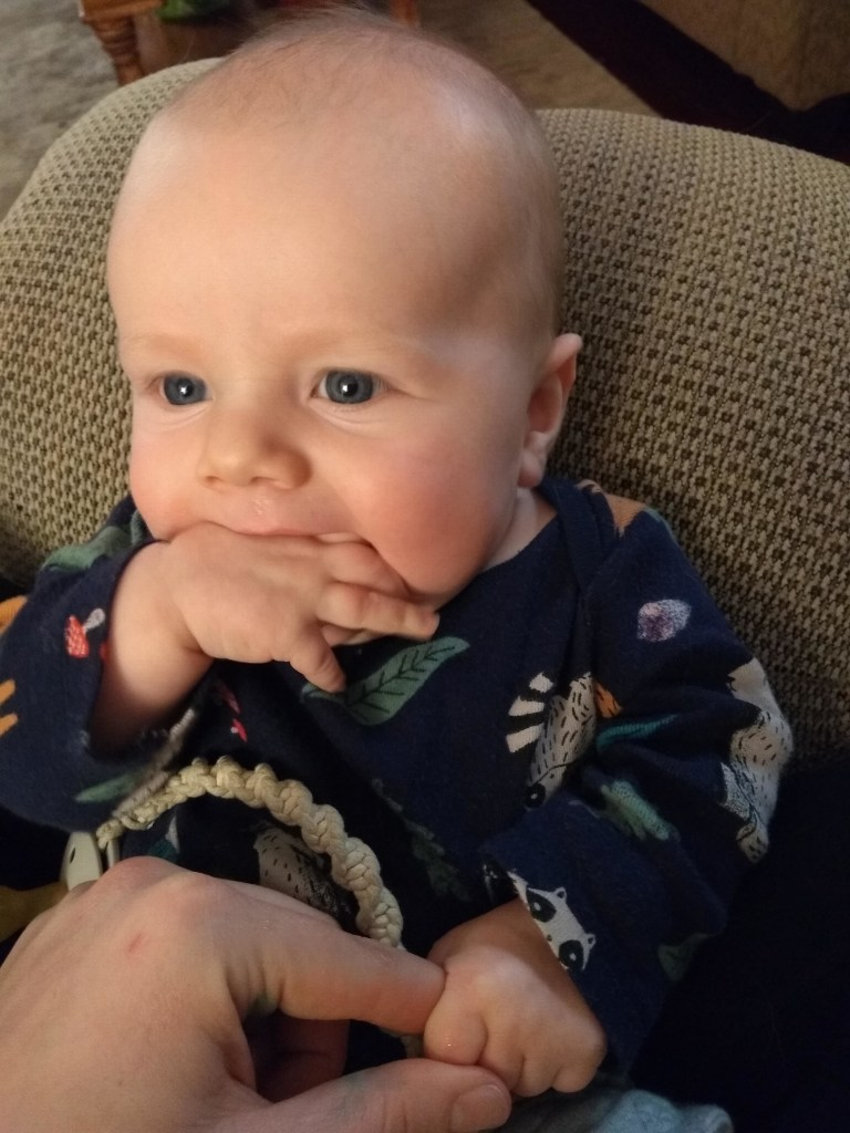 James Richard 5 month update   read more at happilythehicks.com