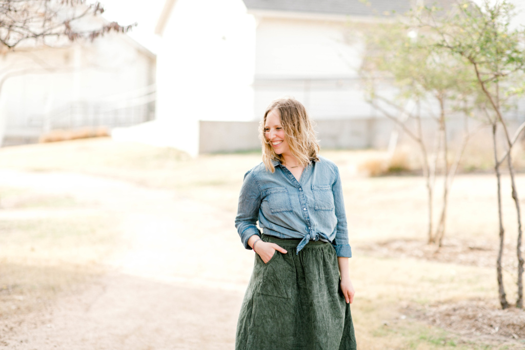 Five Winter to Spring Transition Outfits | read more at happilythehicks.com