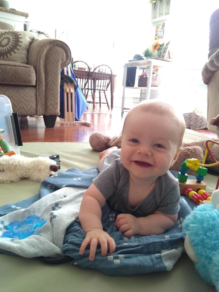 James Richard | Ten Month Update | read more at happilythehicks.com