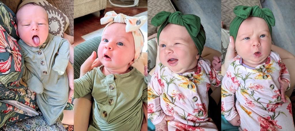 June Elizabeth | Month One Update | read more at happilythehicks.com