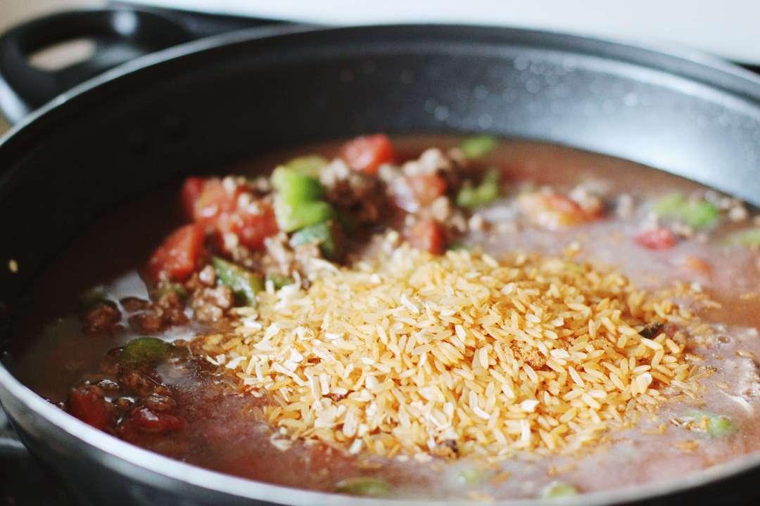 One Pot Unstuffed Green Pepper Recipe | Happily Trista Blog