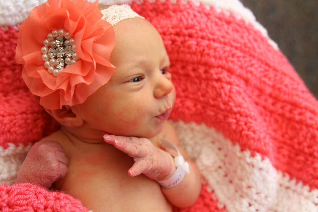 Blaire Newborn Picture