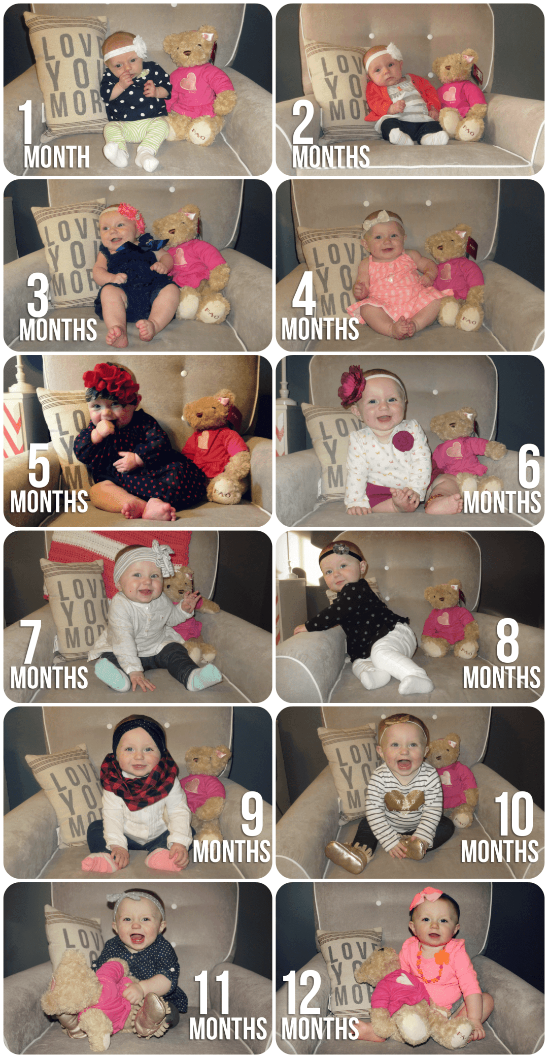 Blaire all 12 months
