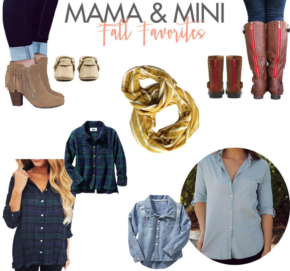 Mama and Mini Fall Outfits
