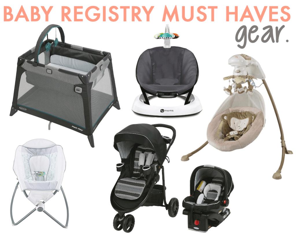 Must Have Baby Registry Gear