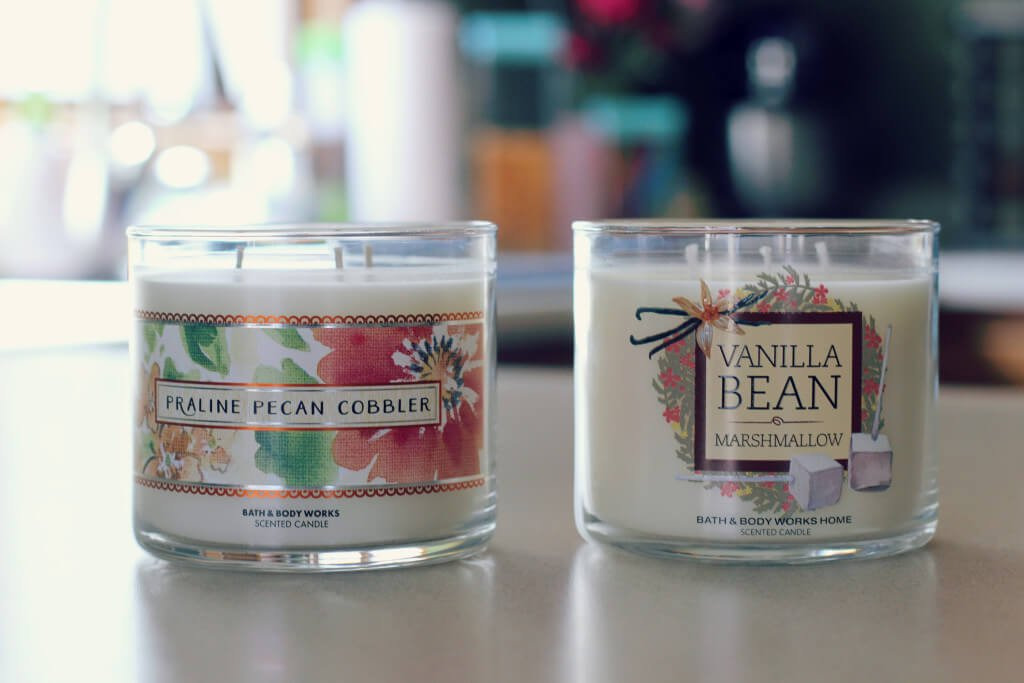 Bath & Body Works Three Wick Candles