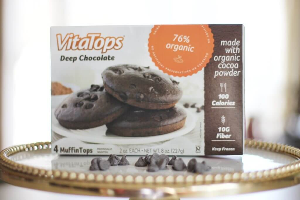 VitaTops Deep Chocolate Muffin Tops
